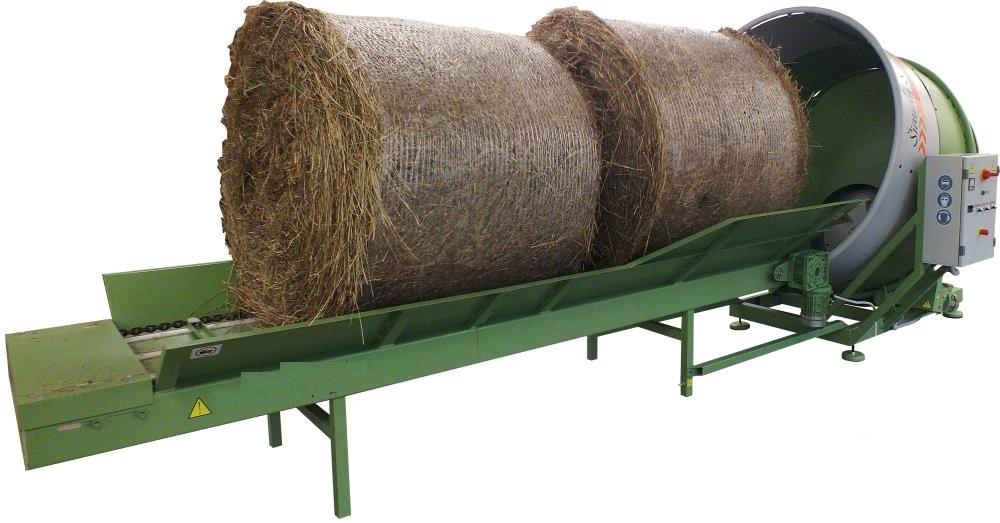 Измельчитель для соломы и сена SSD-180